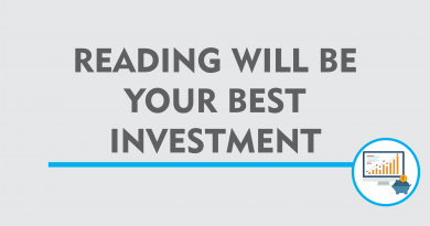 reading will be your best investment